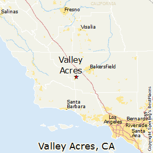 Valley_Acres,California Map