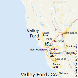 Valley_Ford,California Map