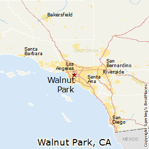 Walnut_Park,California Map