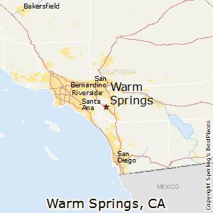 Fontana California Map Comparison: Warm Springs, California   Fontana, California Fontana California Map