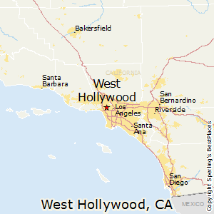 Hollywood Ca Zip Code Map.Best Places To Live In West Hollywood California