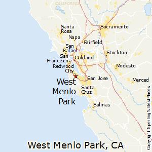 Menlo Park Ca Map Comparison: West Menlo Park, California   Belmont, California Menlo Park Ca Map