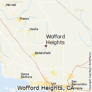 Wofford_Heights,California Map