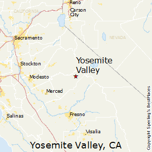 Best Places To Live In Yosemite Valley California