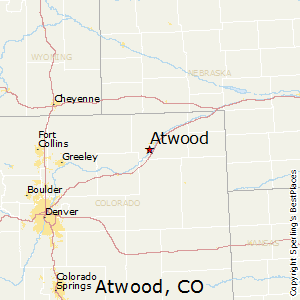 Atwood,Colorado Map