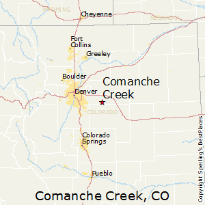 Comanche_Creek,Colorado Map
