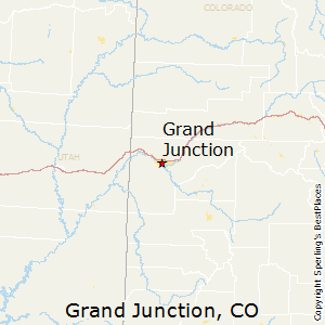 Grand_Junction,Colorado Map