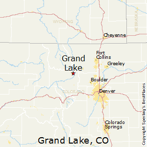Grand_Lake,Colorado Map