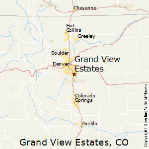 Grand_View_Estates,Colorado Map