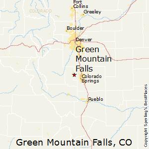 Green Mountain Falls Colorado Map Green Mountain Falls, Colorado Politics & Voting