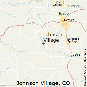 Johnson_Village,Colorado Map