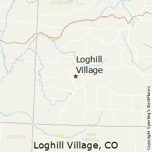Loghill_Village,Colorado Map
