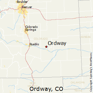 Ordway Colorado Map Best Places to Live in Ordway, Colorado