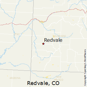 Redvale,Colorado Map