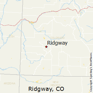 Ridgeway Colorado Map.Best Places To Live In Ridgway Colorado