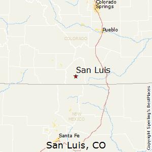 Best Places to Live in San Luis, Colorado on rio colorado map, vale national forest colorado map, blm blanca wetlands map, san luis valley, sa luis co map, de san luis colorado map,