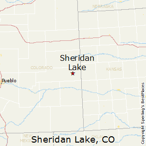 Sheridan Colorado Map.Best Places To Live In Sheridan Lake Colorado