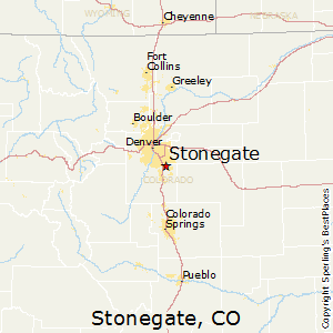Stonegate,Colorado Map