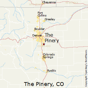 The_Pinery,Colorado Map