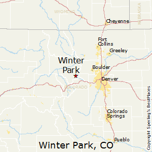 Winter_Park,Colorado Map