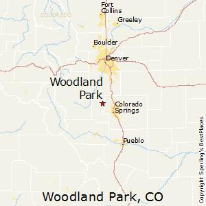 Comparison: Woodland Park, Colorado - Monument, Colorado