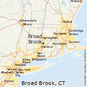 Broad_Brook,Connecticut Map