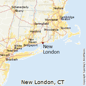 New London Ct Map Best Places to Live in New London, Connecticut