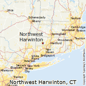 Northwest_Harwinton,Connecticut Map