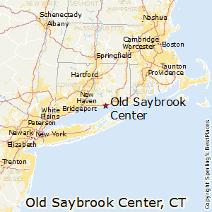 Old_Saybrook_Center,Connecticut Map