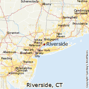Riverside,Connecticut Map