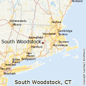 South_Woodstock,Connecticut Map