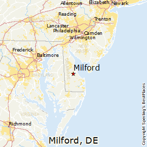 Best Places to Live in Milford Delaware