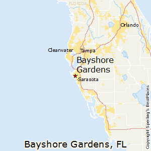 Bayshore_Gardens,Florida Map