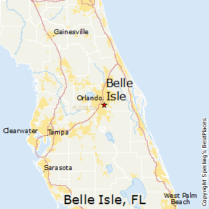 Belle_Isle,Florida Map