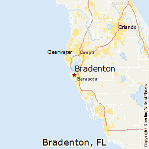 Bradenton Fl Map Best Places to Live in Bradenton, Florida