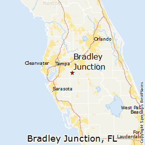 Bradley_Junction,Florida Map