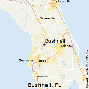 Bushnell Florida Map.Best Places To Live In Bushnell Florida