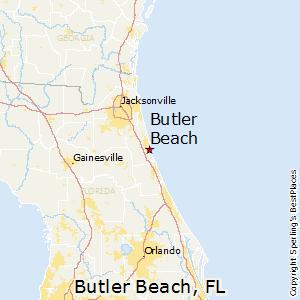 Butler Beach Florida Map
