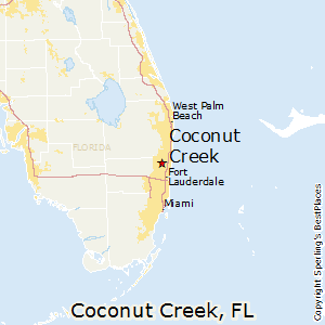 Coconut_Creek,Florida Map