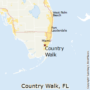 Country_Walk,Florida Map