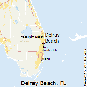 Delray_Beach,Florida Map