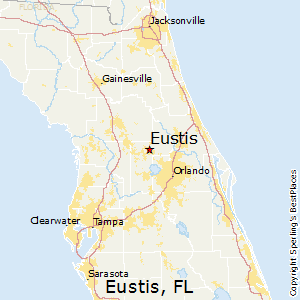 Florida Map With Towns.Best Places To Live In Eustis Florida