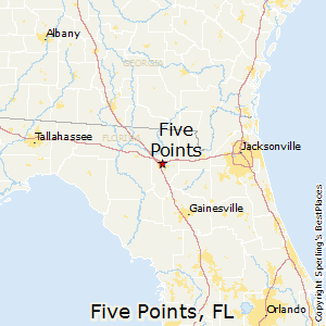 Five_Points,Florida Map