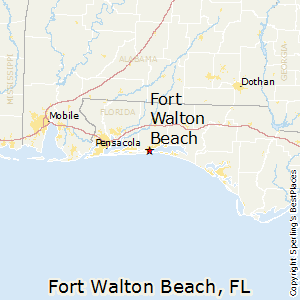 Fort_Walton_Beach,Florida Map