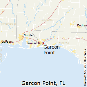 Garcon_Point,Florida Map