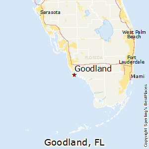 Goodland,Florida Map