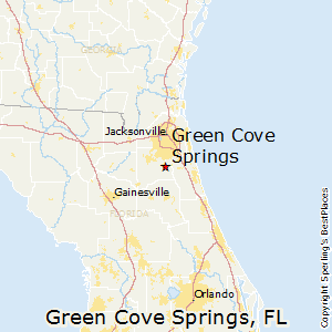 Green_Cove_Springs,Florida Map