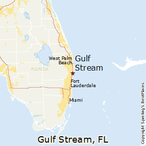 Florida Map Gulf.Best Places To Live In Gulf Stream Florida