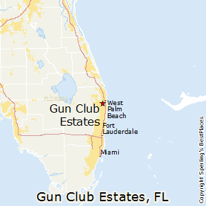 Gun_Club_Estates,Florida Map