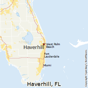 Haverhill,Florida Map